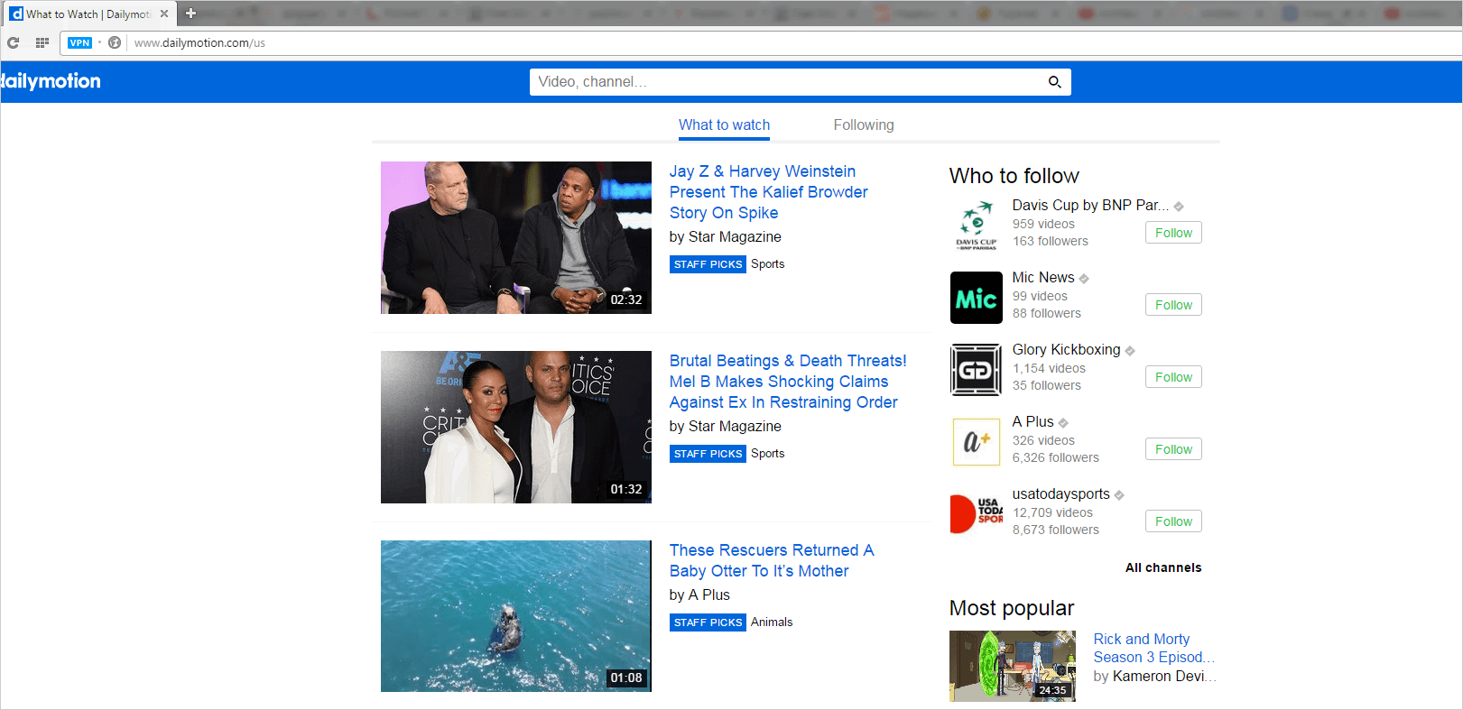 FAQ  GetVideo.at - How to download a video from Dailymotion